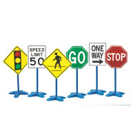 Traffic Signs (set of 6)