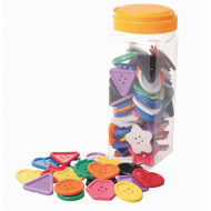 Assorted Large Buttons (set of 90)