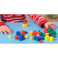 "Geometric Solids, 1"" (set of 40)"