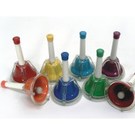 Combined Handbells/Deskbells  (set of 8)