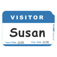 Visitor Badge (box of 100)