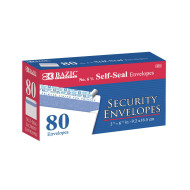 Self-Seal Security Envelopes (box of 80)