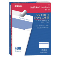 Self Seal Security Envelopes (box of 500)