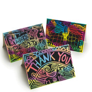 Scratch Artist Greeting Cards (pack of 50)