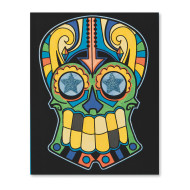 Velvet Art Skull Posters (pack of 24)