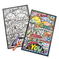 Be You Velvet Art Poster (pack of 24)