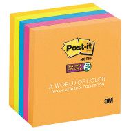 "Post-It® Notes Super Sticky, Rio De Janeiro, 3""x3"" (pack of 5)"