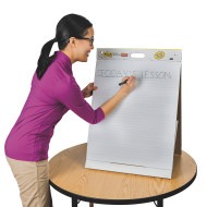 "Post-It® Tabletop Easel Pad with Primary Lines, 20"" x 23"""