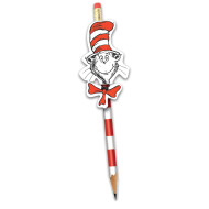 The Cat in the Hat™  Pencil Rewards with Topper (box of 16)