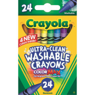 Crayola® Washable Crayons (box of 24)