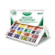 Crayola® Crayons and Markers Classpack® (box of 256)