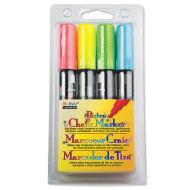 Marvy Bistro Chalk Markers, Fluorescent (set of 4)