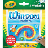 Crayola® Washable Window Markers (set of 8)