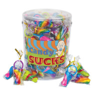Candy Pacifier Lollipops (tub of 60)