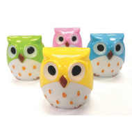 Owl Pencil Sharpeners (pack of 12)