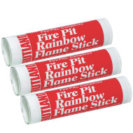 Rainbow Flame Sticks (pack of 3)