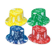 New Year Top Hats  (pack of 25)