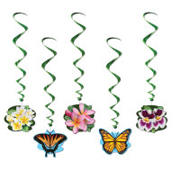 Flower Garden Whirls (pack of 5)