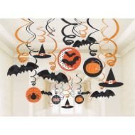 Halloween Mega Value Swirl Decorations (pack of 30)