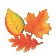 Printed Leaves (pack of 24)