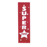 Super Star Award Ribbon  (pack of 12)
