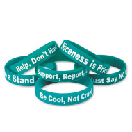Anti-Bullying Silicone Bracelet (pack of 24)