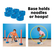 Noodle and Hoop Bases (set of 6)