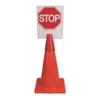 Cone Topper Street Sign Board Inserts (set of 6)