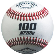 Spalding® 100 NFHS Leather Baseball (dozen)