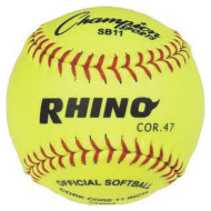 "Rhino® Softball, 11"" (pack of 6)"
