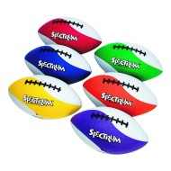 Spectrum™ Rubber Football Set (set of 6)