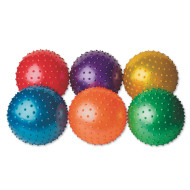 Spectrum™ Spikey Play Balls (set of 6)