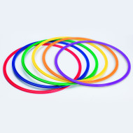 Spectrum™ Flat Hoops / Agility Rings (set of 6)-19 INCH