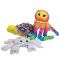 Color-Me™ Fabric Sealife Creatures  (makes 12)