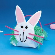 Bunny Basket Craft Kit (makes 12)
