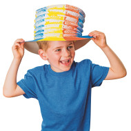 Color-Me™ Pop-Up Paper Hat (makes 24)