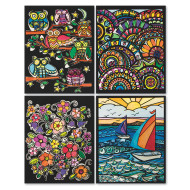 Velvet Art 3-D Posters III (pack of 24)