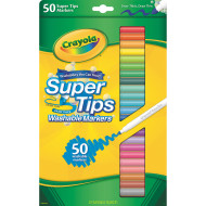 Crayola® Super Tips Washable Markers  (pack of 50)