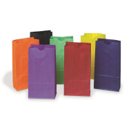 Mini Colored Kraft Bags (pack of 28)