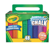 Crayola® Washable Sidewalk Chalk (pack of 48)