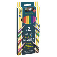 Sargent Art Assorted Color Watercolor Pencils Set (box of 12)