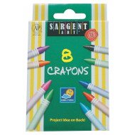 Sargent Art Crayons (box of 8)