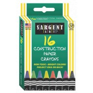 Sargent Art Crayons (box of 16)
