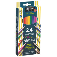 Sargent Art Assorted Color Watercolor Pencils Set (box of 24)
