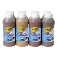 Crayola® Multicultural Washable Tempera Paint (set of 8)