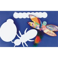 Precut Cardboard Shapes Large - Insects  (pack of 24)