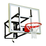 "Adjustable Height Wall-Mounted Shooting Station, 48""W"