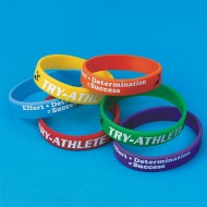 Spectrum™ Try-Athlete Award Bracelets (pack of 24)