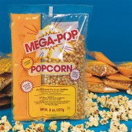 Mega Pop® Corn, Oil and Salt Kit for Popcorn Makers with a 6 oz. Kettle (case of 36)