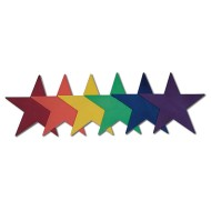 Spectrum™ Star Markers  (set of 6)